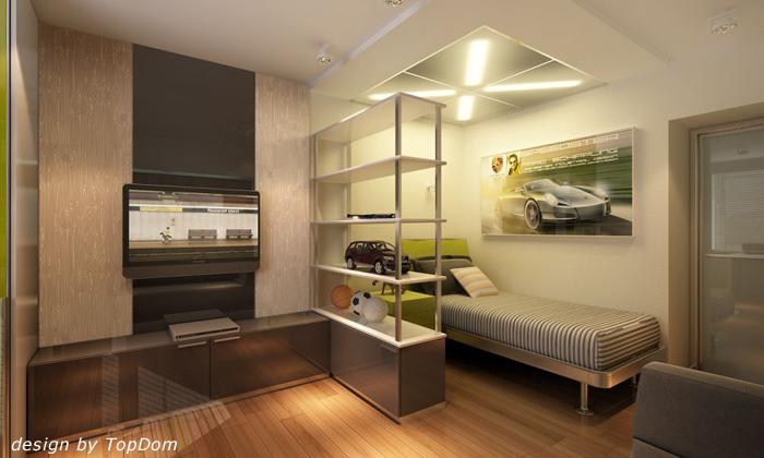 Дизайн проекты спален для подростка