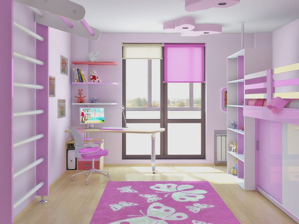 Красочная детская: 11 потрясающих комнат, дизайнерские проекты.