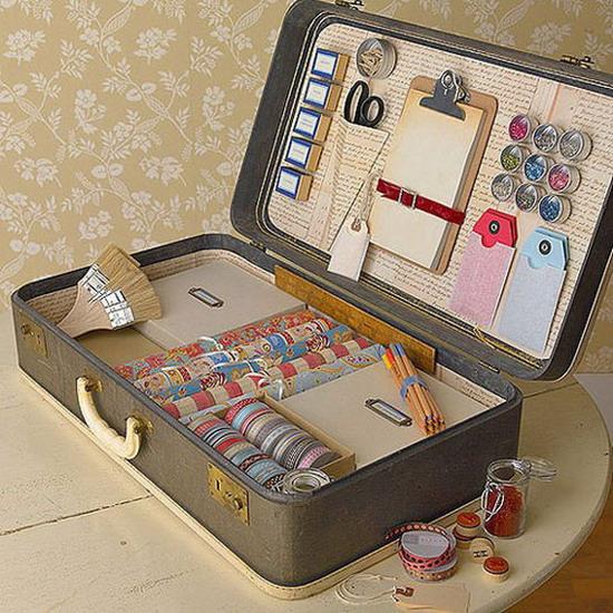 Что можно сделать из чемоданов своими руками 32