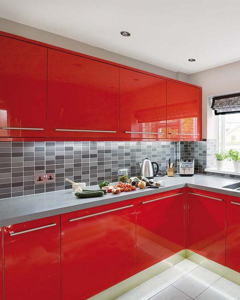 Modern Kitchen Red: Как победить рутину: 3 интерьера красных кухонь в