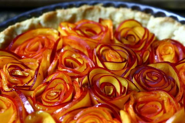 for Apple pie decoration