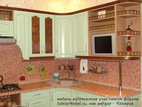 Как покрасить мебель на кухне своими руками