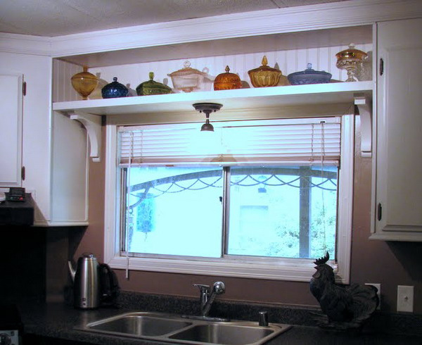Кухни на окна своими руками