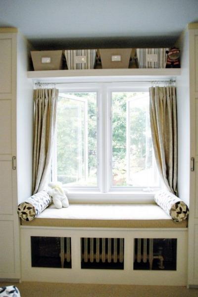 Как сделать под окном красиво