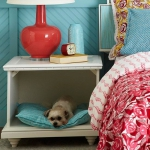 simple-diy-ideas-small-doggie-beds-in-nightstand6