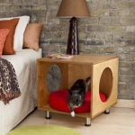 simple-diy-ideas-small-doggie-beds-in-nightstand9