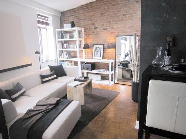 Интерьер лофт в малогабаритной квартире фото