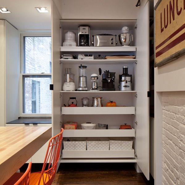 Мелкая кухонная техника, идеи хранения