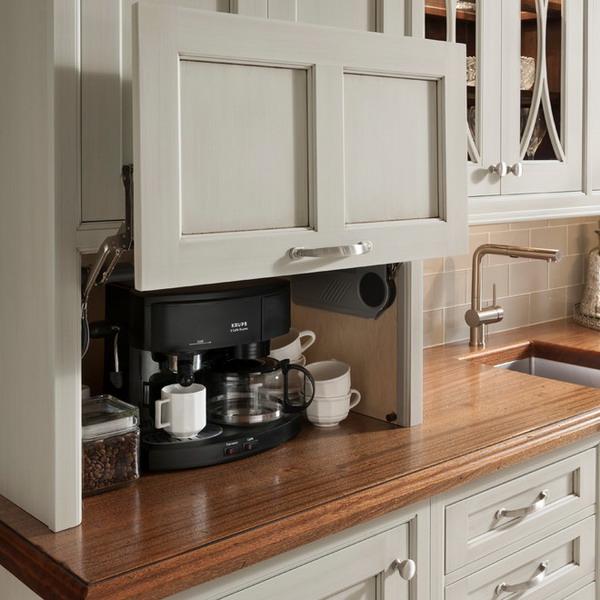 Tiny Kitchen Storage Ideas: Мелкая кухонная техника, идеи хранения