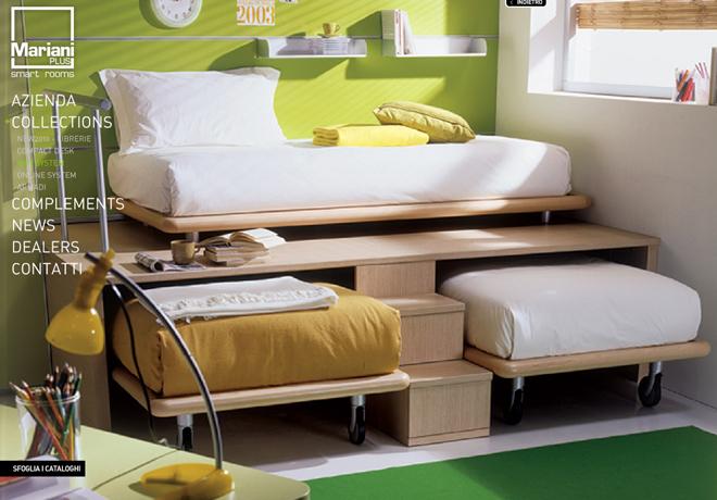Дизайн выдвижная кровать