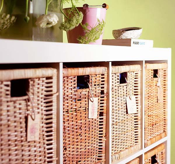Корзины для хранения вещей в шкафу своими руками 43
