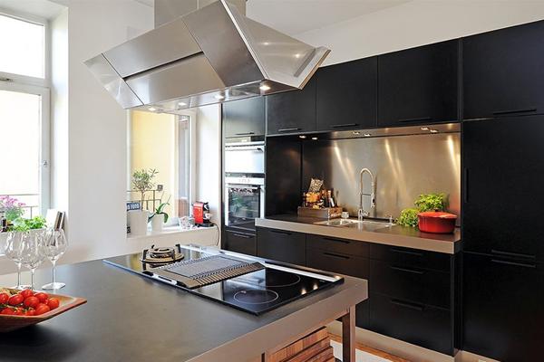 кухня с балконом 9 кв. метров фото