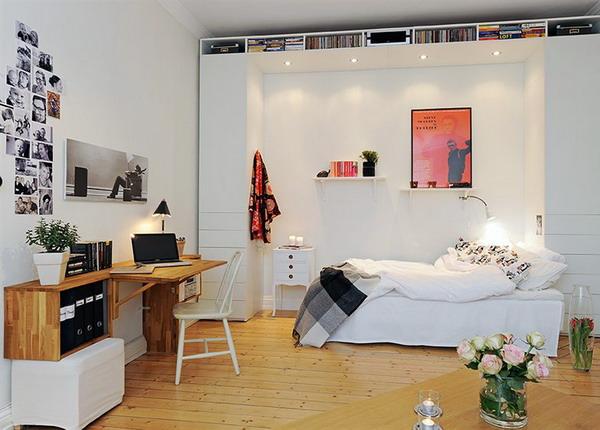 ...вам посмотреть на дизайны рабочих мест в скандинавских квартирах.