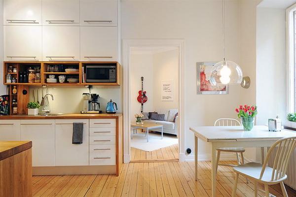 ремонт кухни фото 9 кв