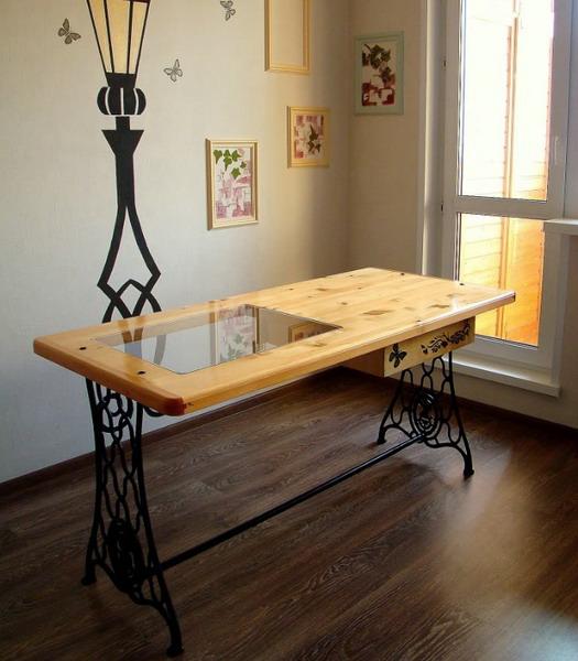 Столик из швейной машинки зингер своими руками