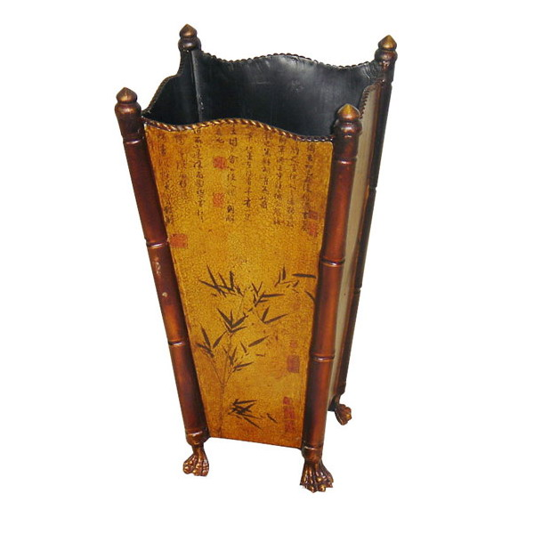 "либо стойки для зонтов в духе  ""шинуазери "" - с китайскими мотивами на..."
