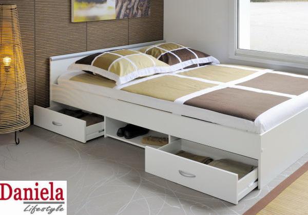 Кровать с большим ящиком для хранения