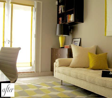 до и после,квартира,ремонт,фото ,кровать,диван,комната.