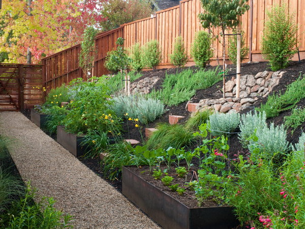 Landscaping landscaping ideas on a slope - Ideas for gardens on a slope ...