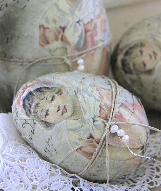Винтажные украшения для пасхальных яиц: 70 фото идей для поклонников ретро и рукоделия 805