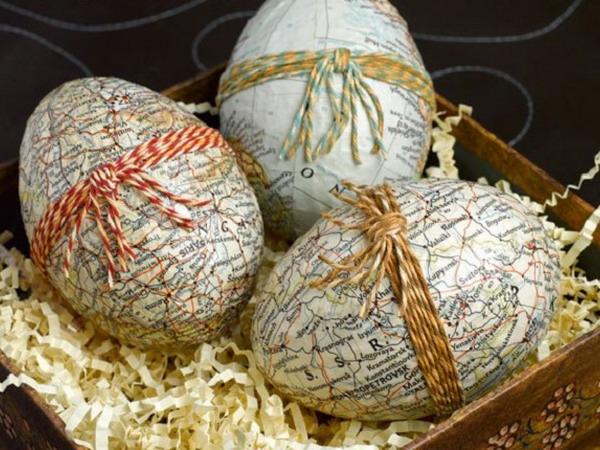 Винтажные украшения для пасхальных яиц: 70 фото идей для поклонников ретро и рукоделия 694